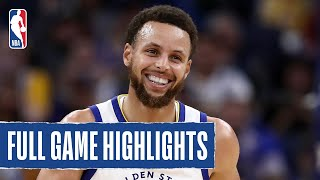LAKERS at WARRIORS | Steph, Russell Combine For 61 In Preseason Finale | 2019 NBA Preseason
