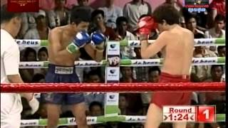 Muay Thai VS Sen Rady (សែន រ៉ាឌី) 57kg 3-29-2014