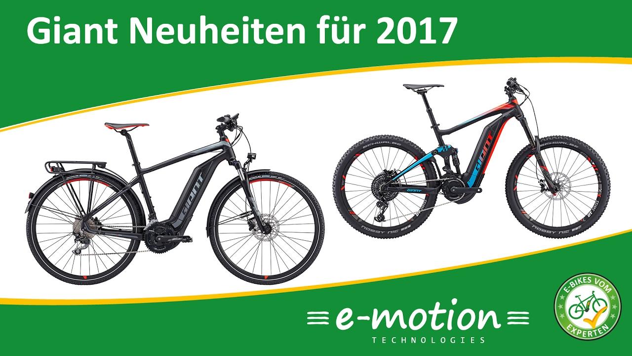 giant e bike neuheiten f r 2017 e mtb und trekking e bike vorgestellt youtube. Black Bedroom Furniture Sets. Home Design Ideas
