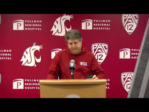 WSU Football: Mike Leach Press Conference 10/7/19