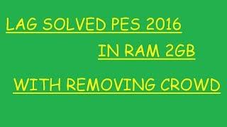 Pes 2016 lag fix pc
