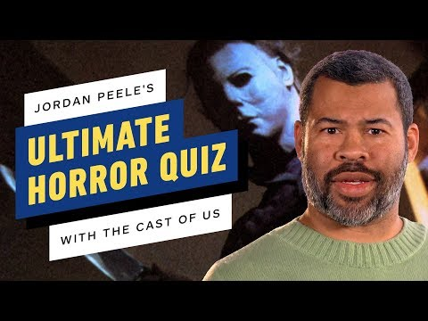 Jordan Peele Gives the Cast of Us the Ultimate Horror Quiz