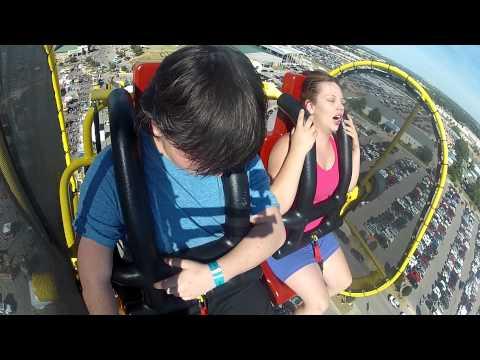 Tulsa State Fair 2014--Skyscraper Ride
