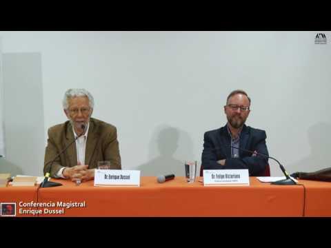 """Conferencia Magistral Enrique Dussel en el marco de los 150 años de """"El Capital"""""""