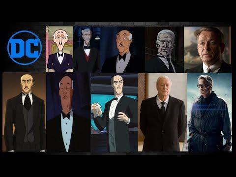Alfred Pennyworth: Evolution