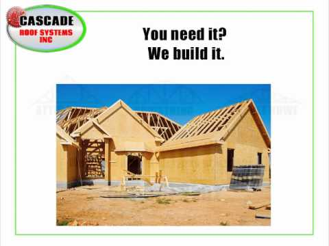 Roof Truss Manufacturing Bend, Or   Cascade Roofing Systems Inc