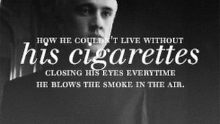 Draco+Hermione. {Dramione} Трейлер к фанфику. Cigarettes after you.