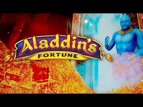 Aladdin's Fortune 3D Slot - NICE SESSION, ALL BONUS FEATURES!