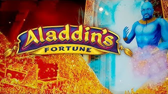 Aladdin's Fortune 3D Slot - NICE SESSION, ALL BONUS FEATURES!