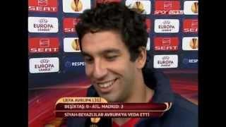 Beşiktaş - Atletico Madrid (Arda Turan - Maç Sonu Açıklamaları)