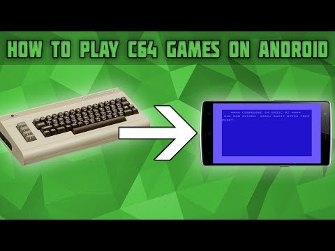 How To Play Commodore 64 Games In Android! Commodore 64 Emulator For Android! Frodo C64 Setup!