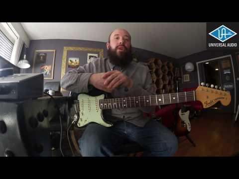 Le son de Andy Summers avec des plugins Universal Audio, par Guitare Obsession.