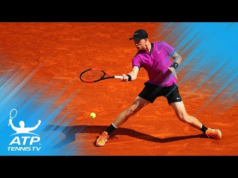 Britain's Kyle Edmund hits outrageous flick winner | Marrakech 2018 Semi-Final