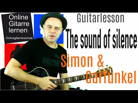 The Sound of Silence Simon & Garfunkel Disturbed Guitarlesson