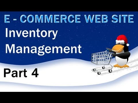 4. E - Commerce Website Tutorial - PHP MySQL Inventory Management ...