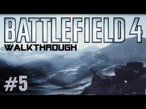Battlefield 4 Gameplay Walkthrough Part 5 Campaign Mission 5 KUNLUN MOUNTAINS - BF4 Story Xbox360