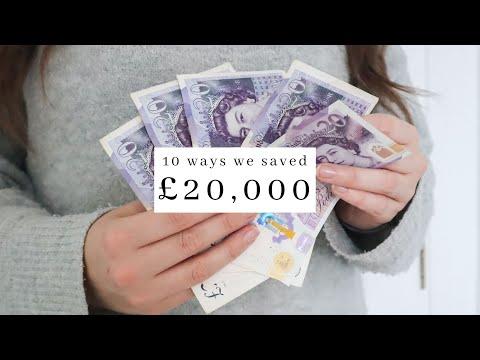 10 Ways WE SAVED £20,000 - Minimalist MONEY SAVING Tips To SAVE FAST