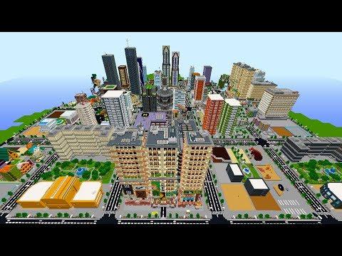 Я дал 120 Майнкрафт Игрокам каждому по площадке, что бы построить город!