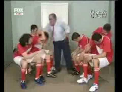 Coach Slap Players Soccer,funny