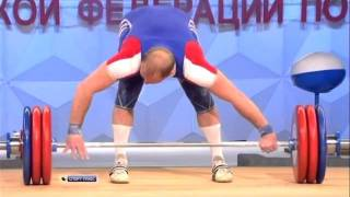 2011 IWF Grand Prix - President's Cup Men 94 Kg Snatch