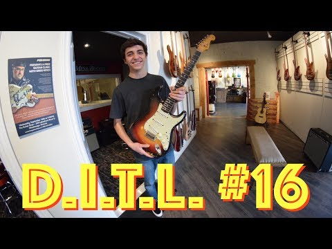 Playing a $20,000 Guitar  Day In The Life 16