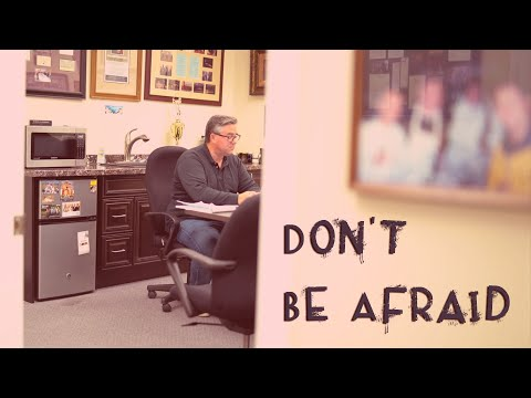 Don't Be Afraid - Vlog #4 with Greg Johnson