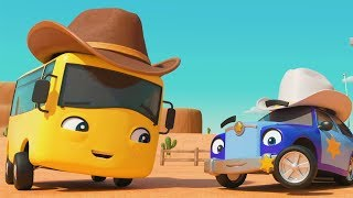 SONG - Cowboy Buster | Morphle and Friends | Cartoons for Kids| Go Buster