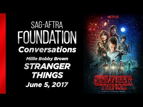 Conversations with Millie Bobby Brown of STRANGER THINGS