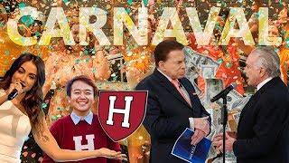 Fábio Rabin - Carnaval / Temer no Silvio Santos / Anitta em Harvard