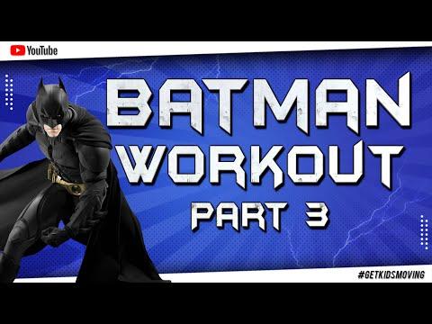 The Batman Kids Workout