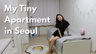 My Tiny Seoul Apartment (officetel) Tour | $500/month 200sqft