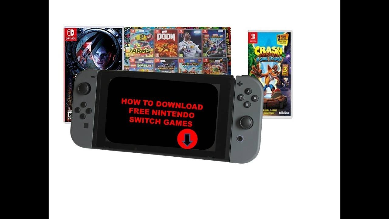 How To Download Free Nintendo Switch Games Nintendo