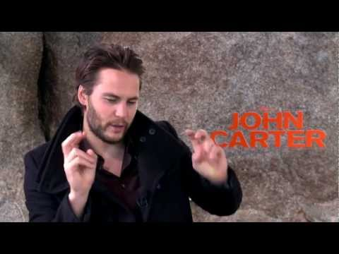 Taylor Kitsch Interview - John Carter - Totally Rad Show