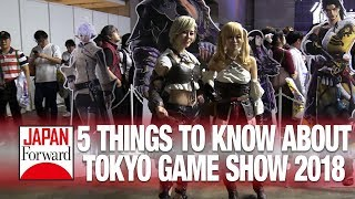 5 Things to know about Tokyo Game Show 2018 | JAPAN Forward