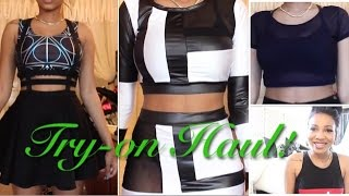Huge Online Try-on Haul! | Dresslink, NewDress, Dressin