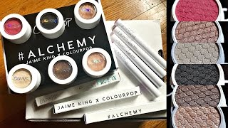 Jaime King x Colourpop 'Alchemy' Collection | SWATCHES