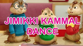 Jimikki Kammal Dance Perfomance by Alvin and the Chipmunks