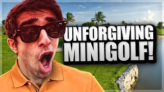 MOST UNFORGIVING MINIGOLF MAP - GOLF IT