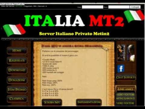 metin2 server privato italiano