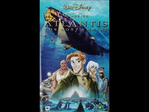 Digitized opening to Atlantis: The Lost Empire (2002 VHS UK)