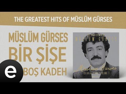 Bir Şişe Bir Boş Kadeh (Müslüm Gürses) Official Audio #birşişebirboşkadeh #müslümgürses - Esen Müzik