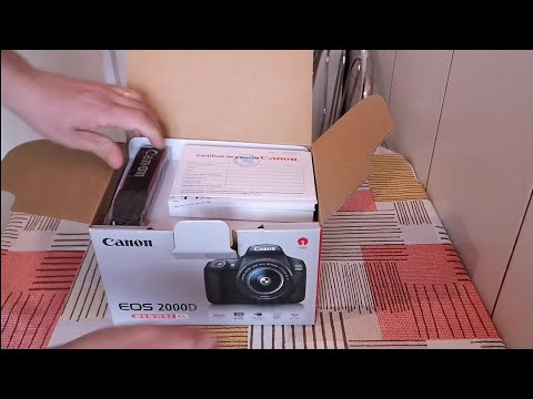 Canon EOS 2000D unboxing + sample pictures 18-55 mm lens