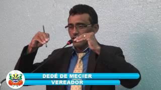 Dedé de Mecier Pronunciamento 19 05 2017