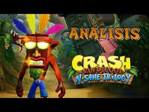 Pequeño Análisis Crash Bandicoot N Sane Trilogy