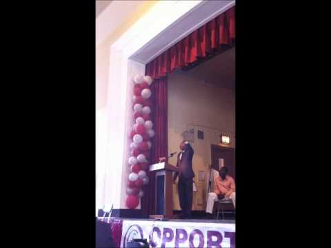 Opportunity Charter School Commencement with Darrell Bennett (iPhone footage) - June 2012