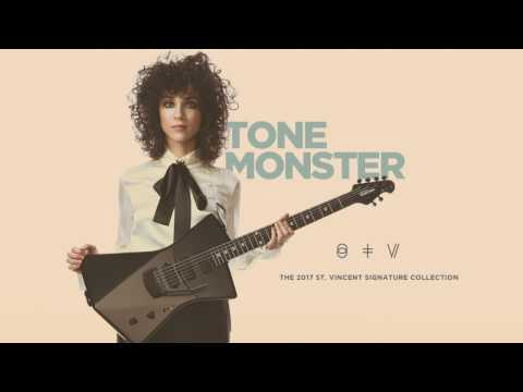 The Ernie Ball Music Man St. Vincent Signature Collection