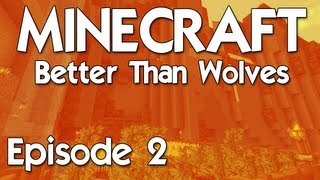 Jeet Plays Better than Wolves - Episode 2: Farming, mining and nether death go!