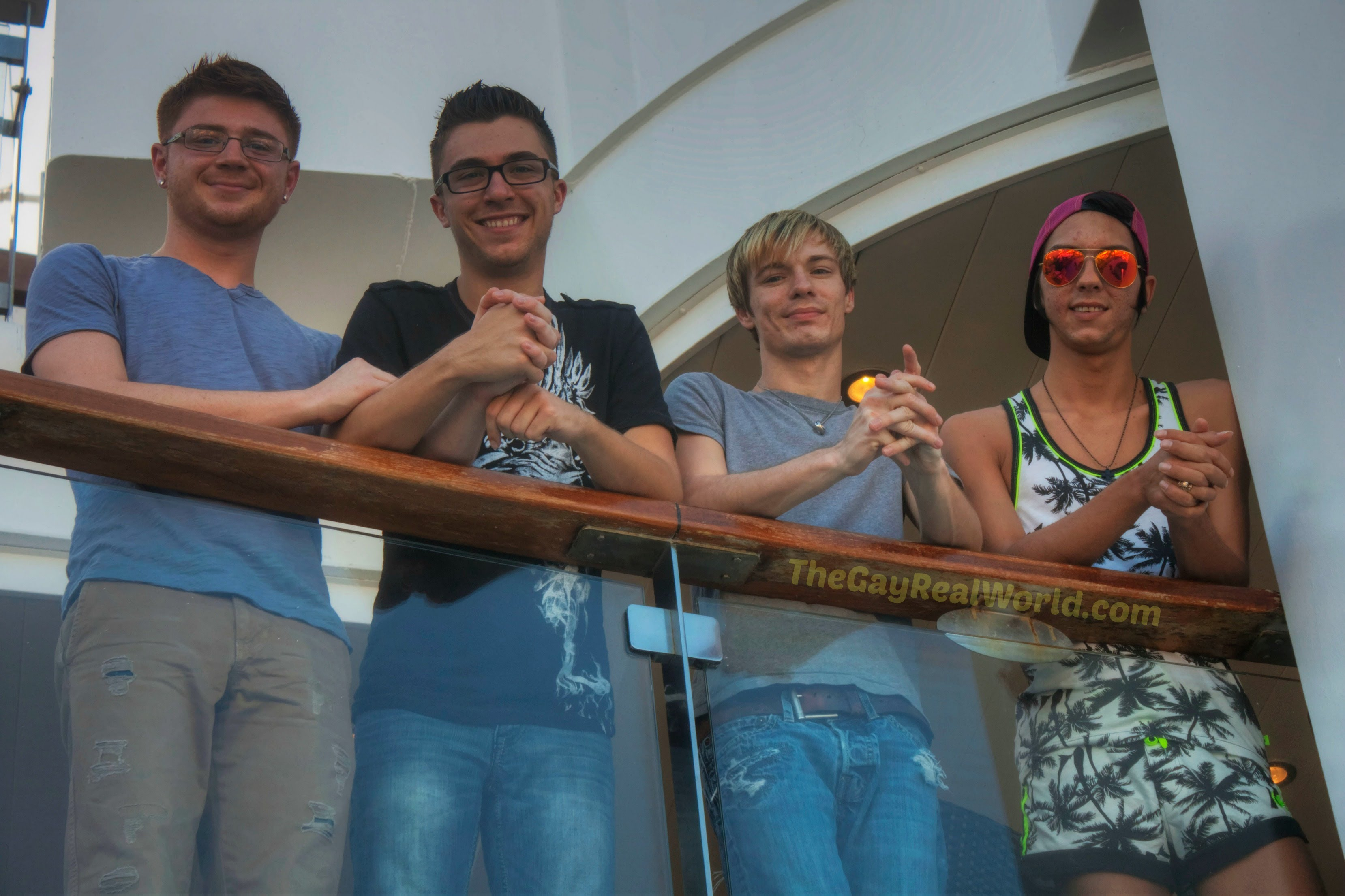 The Gay Real World Cruise Week Kicks Off Live Here On You Tube