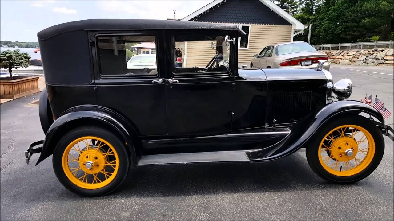 """1928 Ford Model A """"Fordor"""" - YouTube"""