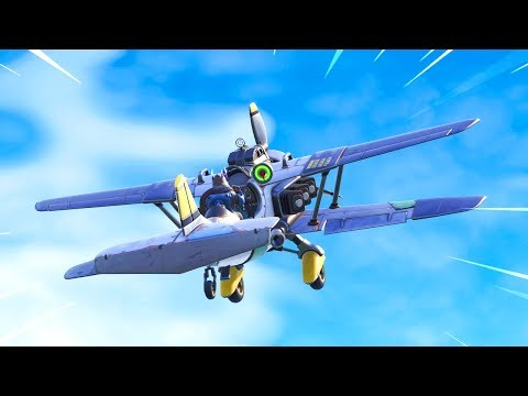 The New Airplane in Fortnite is BROKEN.. thumbnail